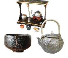 伊達な出張買取キュリオ、茶道具を高値買取強化中!